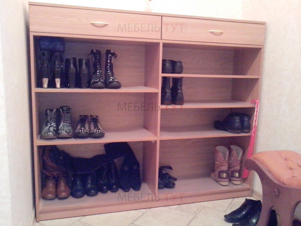 Обувница открытая