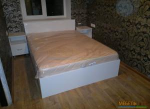 Шкаф-гардеробная и кровать
